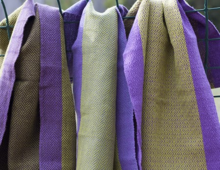 Grape vine towels